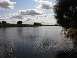 ловля на реке